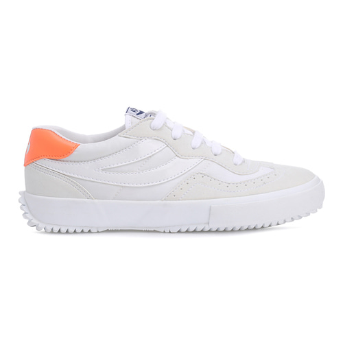 [(여자)아이들 슈화 착장] 2837-MICROFIBER NYLON U White-Orange_S111HKWA0E
